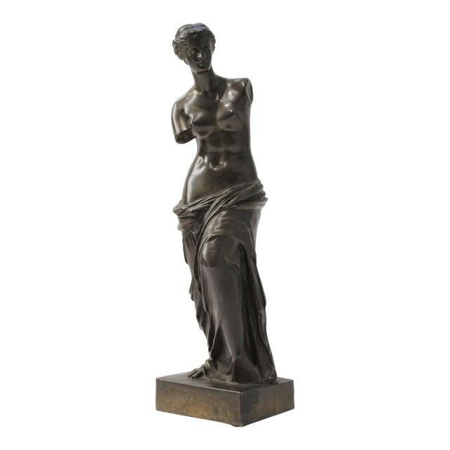 Antique Grand Tour Venus De Milo Bronze Figure For Sale