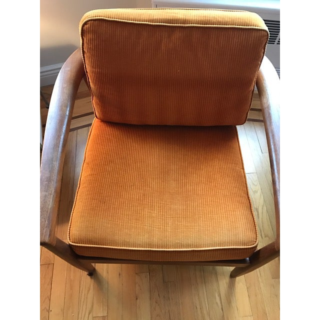 Orange Dux Danish Modern Teak Barrel Back Chairs - a Pair For Sale - Image 8 of 11