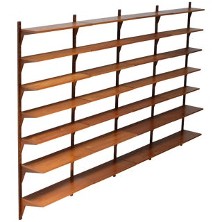 Poul Cadovius Cado Wall Unit in Teak For Sale