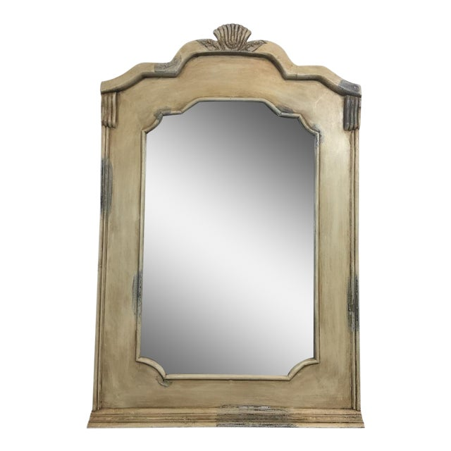 Traditional Beige Wall Mirror - Image 1 of 5