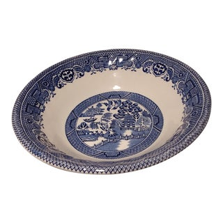 Myott Staffordshire Willow Blue Cereal Bowl For Sale
