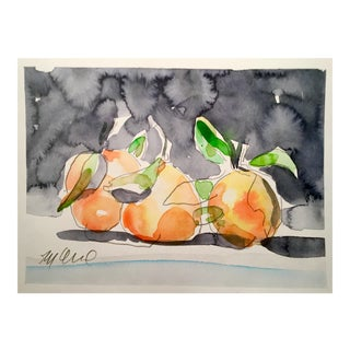 Still Life Orange Painting For Sale