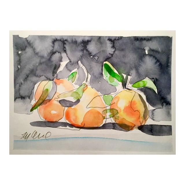 Still Life Orange Painting - Image 1 of 3
