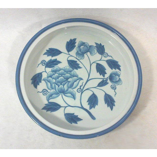 Maitland-Smith Dome Covered Peony Dish - Image 3 of 4