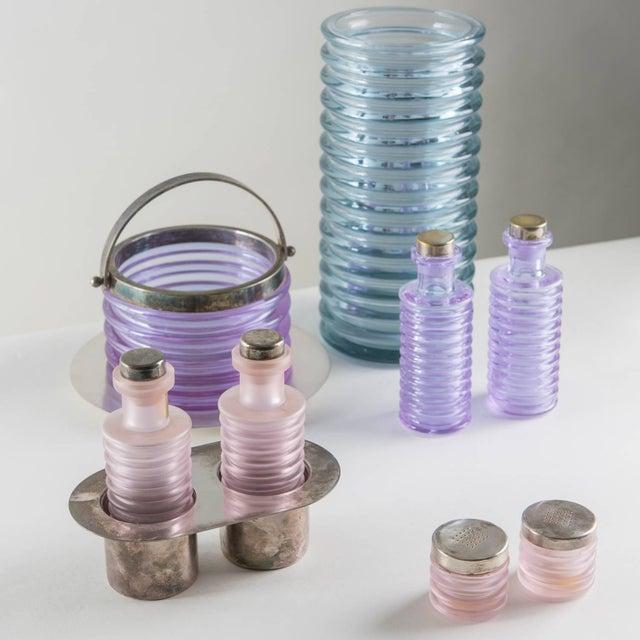 "Glass ""Onda"" Glass Set by Sergio Asti for Arnolfo di Cambio For Sale - Image 7 of 10"
