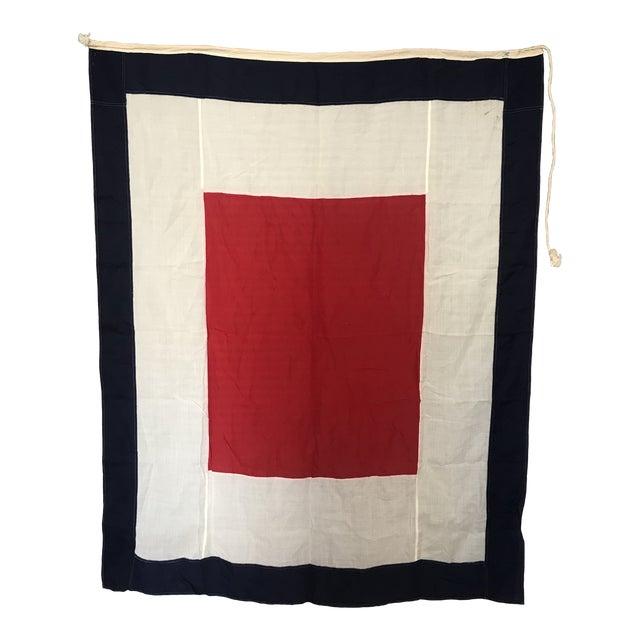 "Maritime Signal Flag ""W"" For Sale"