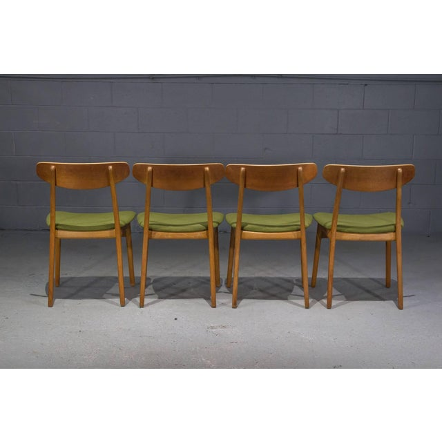 1960s Danish Modern Teak Dining Chairs- Set of 4 For Sale - Image 5 of 10