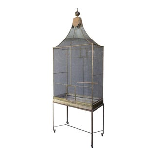 Large French Bird Cage For Sale