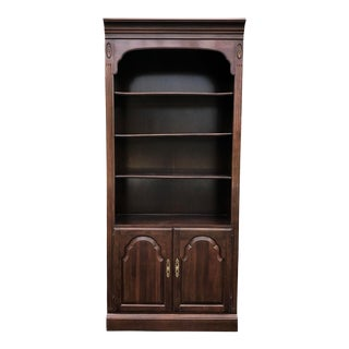 Ethan Allen Georgian Court Bookcase For Sale