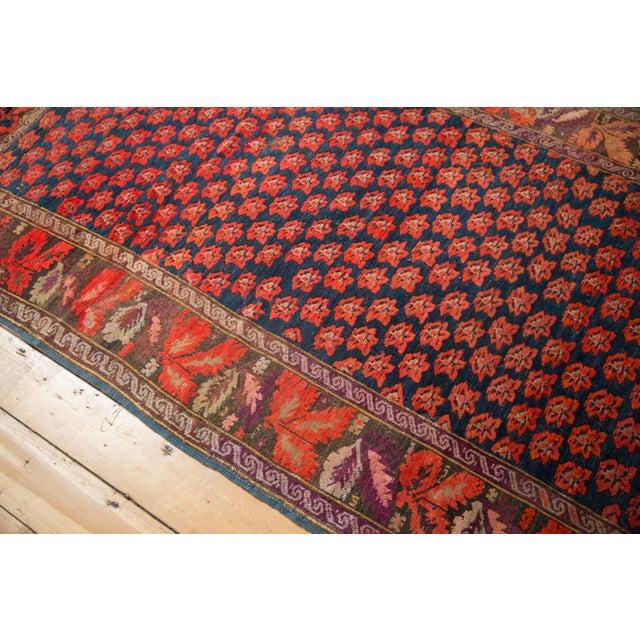 """Blue Antique Karabagh Carpet - 4'9"""" x 9'4"""" For Sale - Image 8 of 13"""
