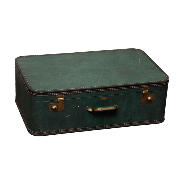 JC Higgins Green Suitcase - Image 1 of 10