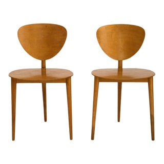 Max Bill Tripod Chairs, 1949 For Sale