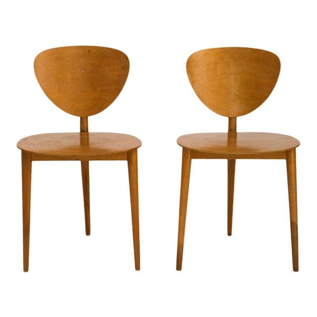 Max Bill Tripod Chairs, 1949 For Sale