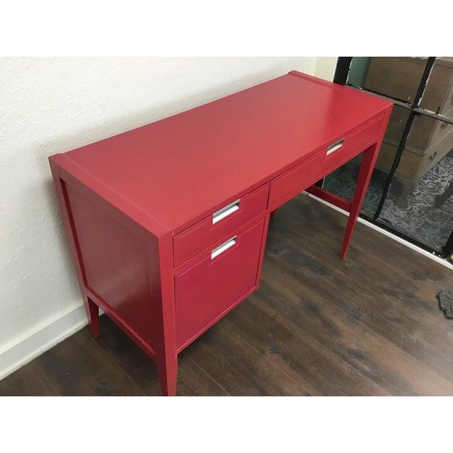Danish Modern 1960s Danish Modern Basic Witz Writing Desk For Sale - Image 3 of 8