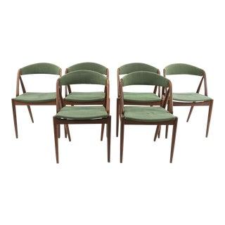 Kai Kristiansen for Schou Andersen Model 31 Teak Dining Chairs - Set of 6 For Sale