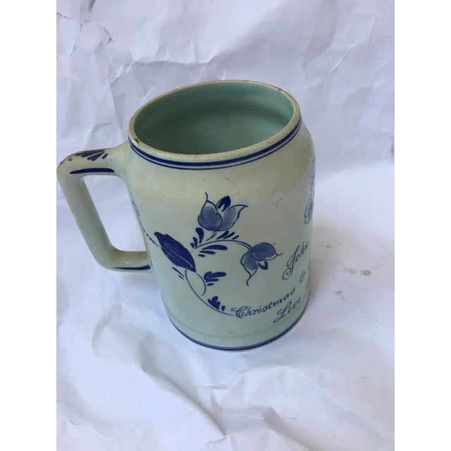 Hand Painted Personalized Delft Mug For Sale - Image 10 of 10