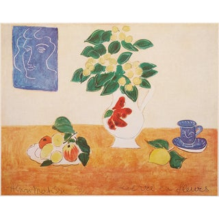 """1947 Henri Matisse """"Flowering Ivy"""", First Edition Period Swiss Lithograph For Sale"""
