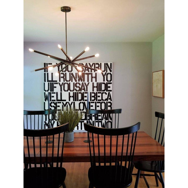 """Not Yet Made - Made To Order Blueprint Lighting """"Nest"""" Oil-Rubbed Bronze Finish Chandelier For Sale - Image 5 of 8"""