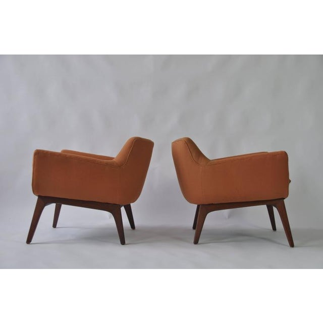 Pair of Adrian Pearsall lounge chairs.