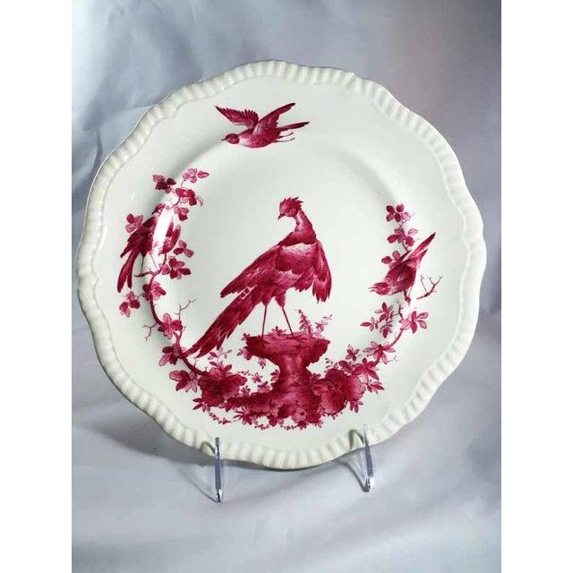 Traditional Copeland Spode Black Bird Dinner Plates - Set of 6 For Sale - Image 3 of 7