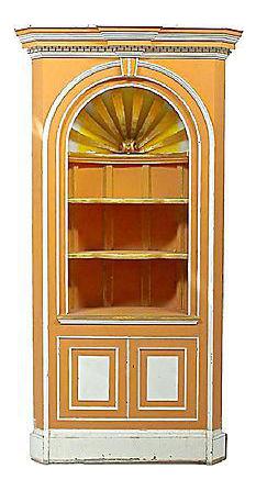 Vintage George III-Style Corner Cabinet  sc 1 st  Chairish & Vintage u0026 Used China and Display Cabinets for Sale | Chairish