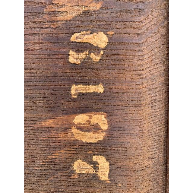 Antique Renaissance Twist Gate Leg Drop Leaf Table For Sale - Image 11 of 13