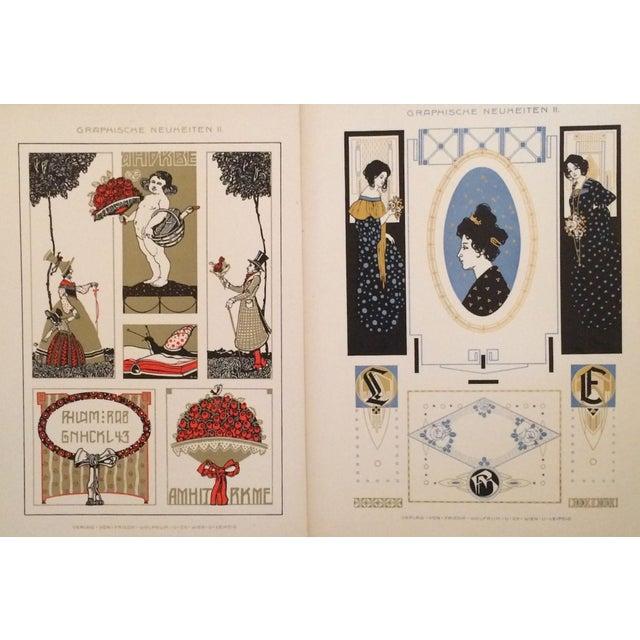German Decorator Prints C1900 Angels & Ladies S/2 For Sale - Image 4 of 4