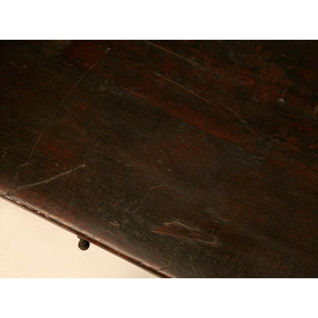 Brown Spanish Console/Sofa Table with Three Deep Drawers For Sale - Image 8 of 10