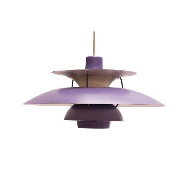 Lilac PH5 Hanging Lamp by Poul Henningsen for Louis Poulsen, 1958 For Sale - Image 11 of 11