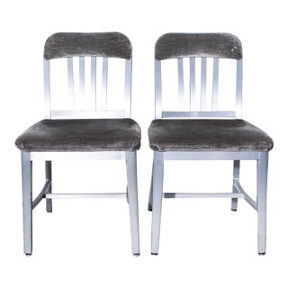 General Fireproofing Co. Refinished Armchairs - A Pair For Sale
