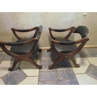 1960s Vintage Drexel Heritage Esperanto Party Chairs- A Pair Preview