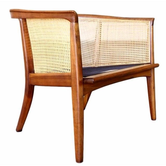 Milo Baughman Cane Back Lounge Chair - Image 1 of 6