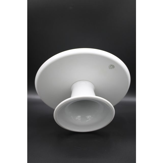 Mid Century Pillivuyt French Cake Stand For Sale - Image 9 of 11