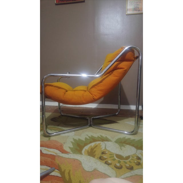 Authentic Mid-Century Milo Baughman Lounge Chair - Image 3 of 5