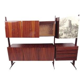 Vittorio Dassi Italian Modern Freestanding Sideboard
