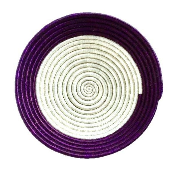 African Woven Basket - Image 5 of 5