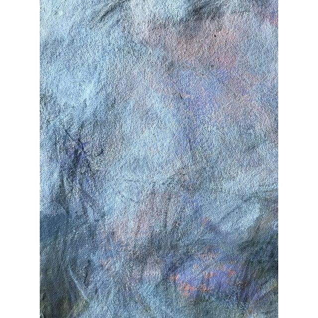 "Abstract Patricia Zippin 1980s Abstract Mixed Media ""Ashland Ducks Ix"" For Sale - Image 3 of 5"