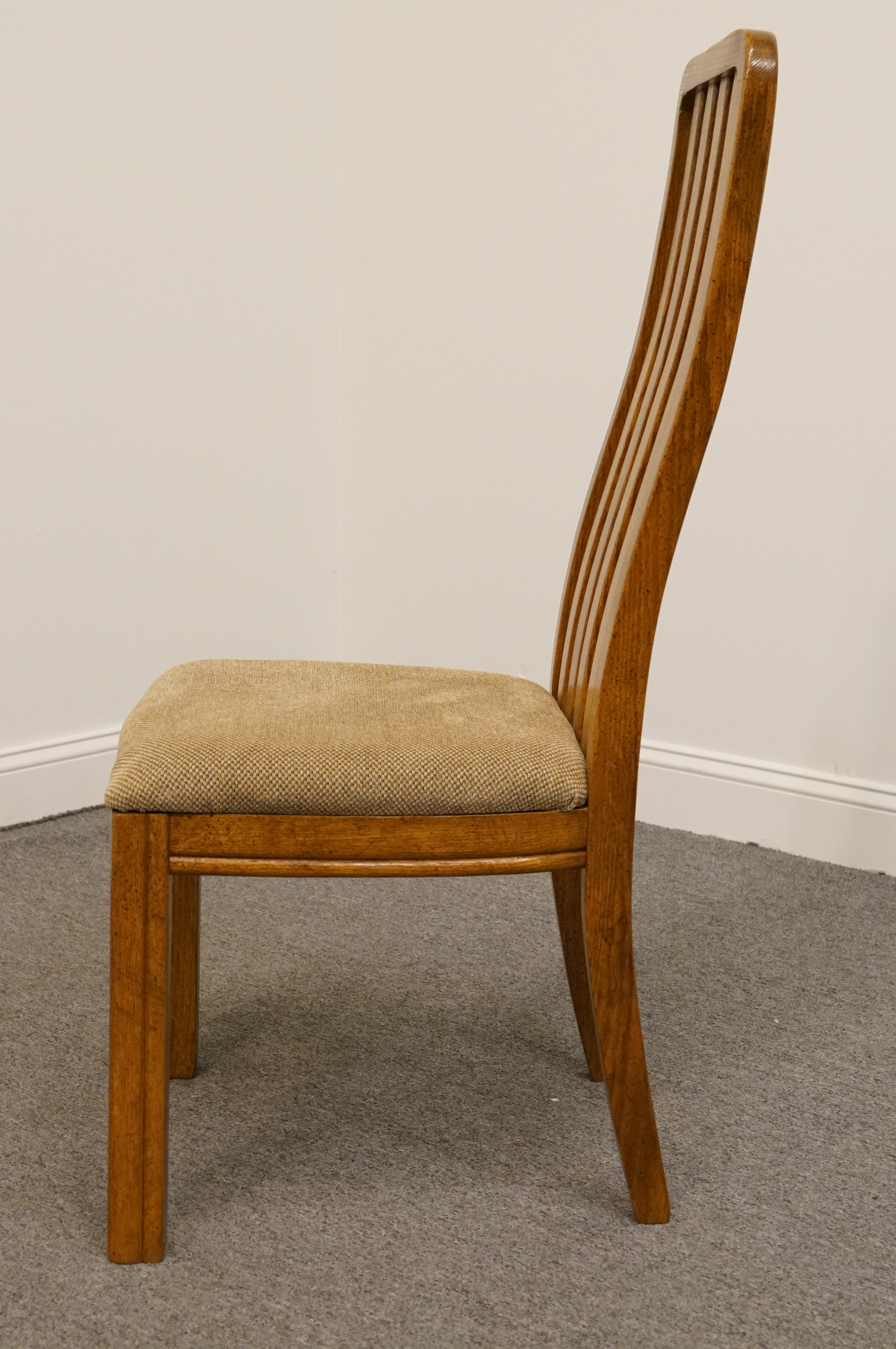 Late 20th Century Thomasville Furniture Sundance Collection Mission Style  Dining / Side Chair For Sale