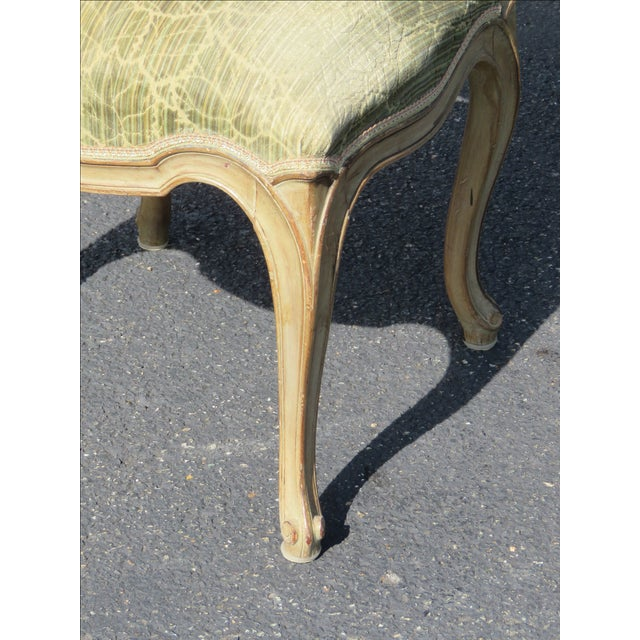 French Distressed Painted Dining Chairs - Set of 6 - Image 8 of 10
