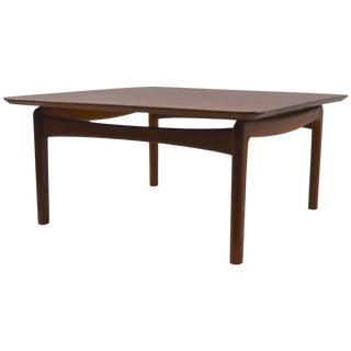 Danish Teak Coffee Table by Hvidt For Sale