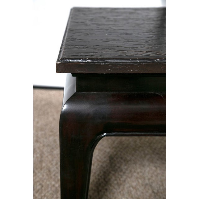 Jack Fhillips William Beech Wood Console Table For Sale In New York - Image 6 of 8