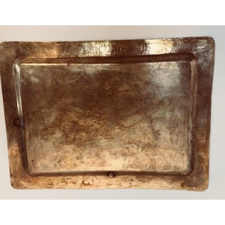 Spanish Moorish Rectangular Brass Tray Preview