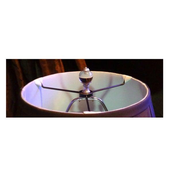 Restoration Hardware Crystal Ball Lamp - Image 6 of 8
