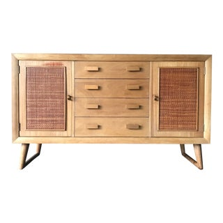 Mid Century Modern Imperial Furniture Mahogany Credenza For Sale