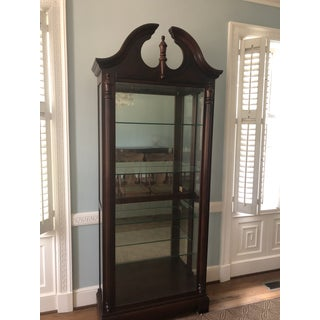 Vintage Mahogany and Glass Display Case Preview