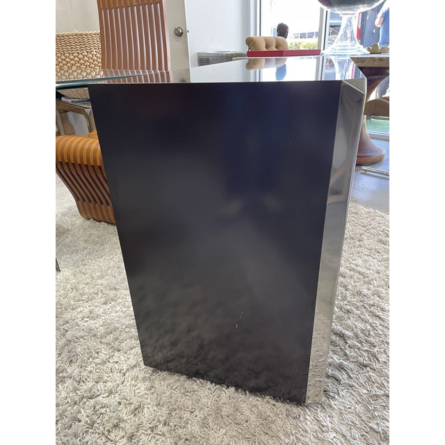 Metal 1974s Willy Rizzo Cabinet for Mario Sabot For Sale - Image 7 of 11
