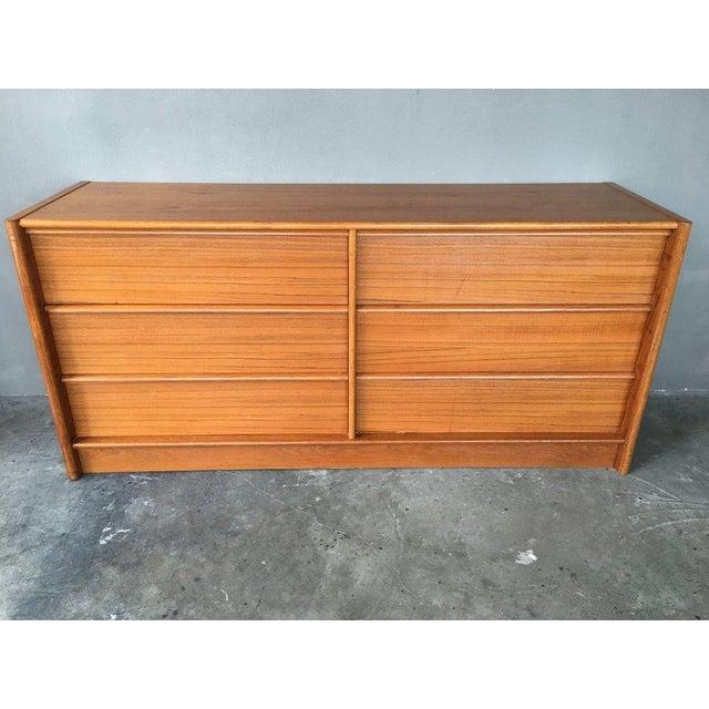 Jesper Teak Danish Modern Dresser For Sale In New York - Image 6 of 7