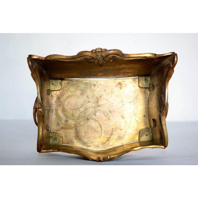 19th Century French Decorated Gilt Bronze Box - Image 8 of 11