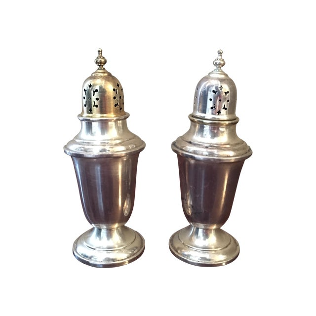 Gorham Sterling Silver Salt and Pepper Shakers - Image 1 of 3