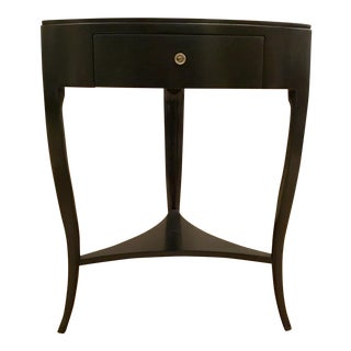 Caracole Modern Ebony Accent Table For Sale
